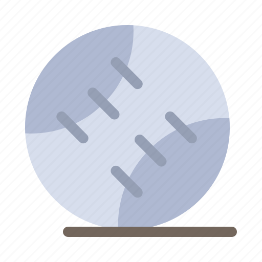 Ball, baseball, sport, stiched icon - Download on Iconfinder