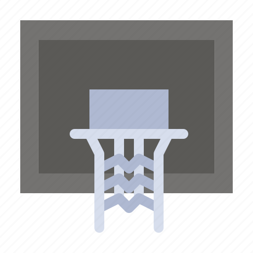 Basket, basketball, court, net, pole icon - Download on Iconfinder