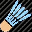 badminton, badminton birdie, feather shuttlecock, game, shuttlecock, sports icon