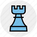 bet, casino, gambling, gaming, luck, rook icon