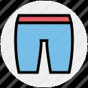 clothe, dress, lingerie, nicker, shorts, underwear, wear icon