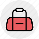 athlete, bag, cricket bag, gym, player bag, sports, sports bag icon