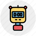 speed, sports, stopwatch, time, timer, training, watch icon