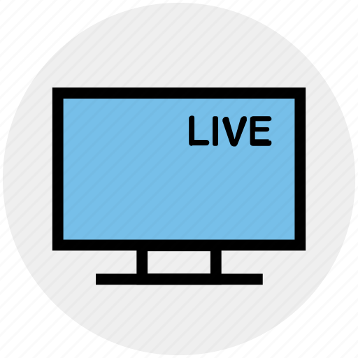 game, lcd, live, live match, sports channel, television, tv icon
