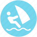boat, boating, sailing, sea, water sports, watercraft icon