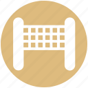 court, game, net, sports, tennis net, volleyball, volleyball net icon