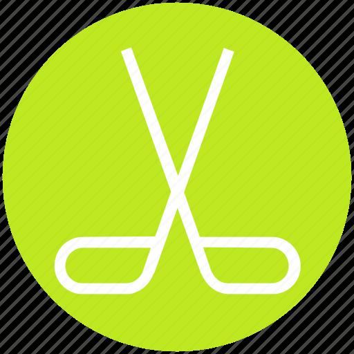 hockey, olympic, puck, sport, sports, sticks icon