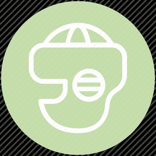 equipment, helmet, hockey, hockey helmet, keeper, safety, sport icon
