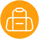 athlete, bag, cricket bag, gym, player bag, sports, sports bag icon
