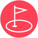 game, golf, golf club, golf course, golf ground, ground, sports icon