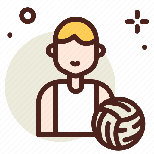 activities, healthy, hobby, outdoor, player, volleyball icon