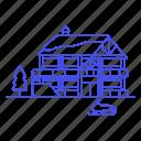 building, club, house, motor, resort, ski, skimobile, sled, snow, snowmobile, sports, winter