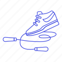 3, footwear, gymnastics, jumping, nike, rope, shoe, skipping, sports icon