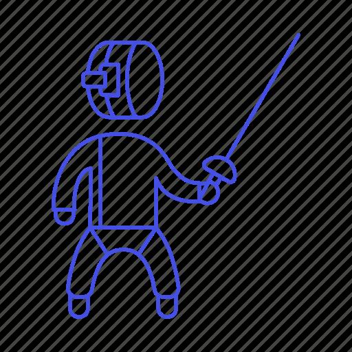 2, equipment, fencing, fighting, gear, sports, sword, swordsmanship icon