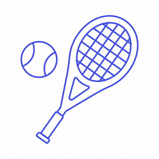 Ball, racket, racquet, sports, tennis icon - Download on Iconfinder