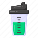 sports drink, sports shaker, drink glass, drink container, protein shaker
