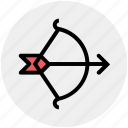 archery, arrow, bow, shoot, sports, target, targeting icon