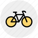 bicycle, bike, cycle, cycling, cyclist, fitness, sport icon