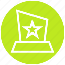 award, medal, position, prize, reward, star