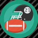 helmet, ball, football, american, american football, sport