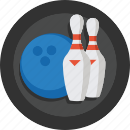 ball, bowling, pin, pins, skittle, skittles, sport icon