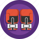 boxer, boxing, boxing goves, boxing ring, fight, gloves, ring, sport icon