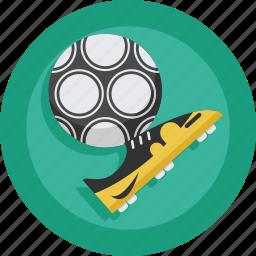 ball, football, shoe, shoes, soccer, sport, stud icon