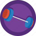 barbell, bodybuilding, dumbell, fitness, gym, sport, weight training, weightlifting icon
