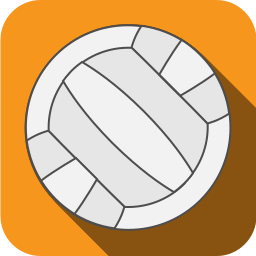 ball, play, sports, volleyball icon