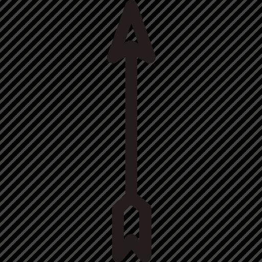 archery, arrow, sport icon