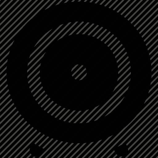 aim, bullseye, dartboard, goal, shooting target, target icon