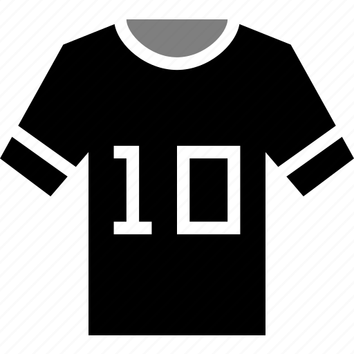 football, football jersey, jersey, shirt, sports, t-shirt, team shirt icon