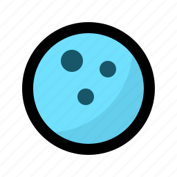 activity, ball, bowling, game, leasure, play, strike icon
