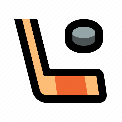 game, hockey, ice, play, puck, sport, stick icon