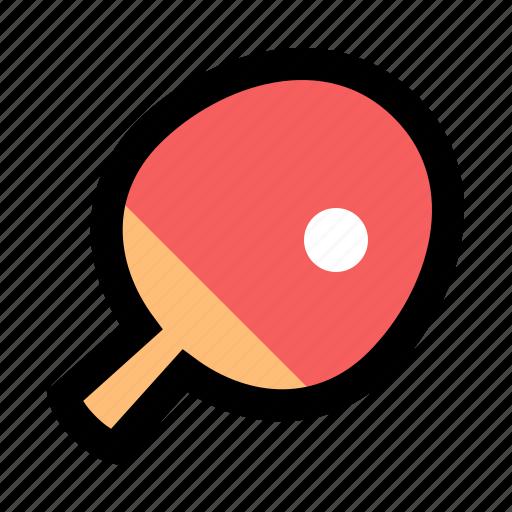 paddle, ping, pingpong, pong, racket, table, tennis icon