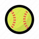 ball, baseball, game, ladies, play, softball, sport icon