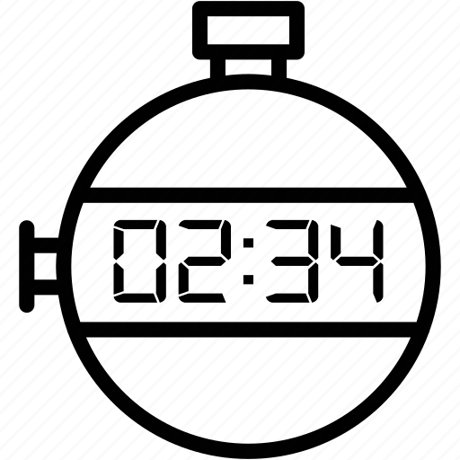 express, fast, measure, running, sport, stopwatch, time icon