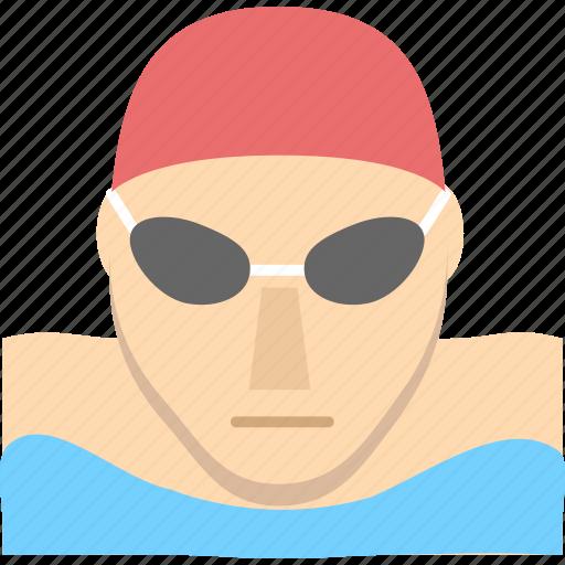 sport, sports, swam icon
