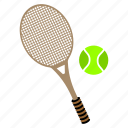 ball, games, long, play, racket, sports, tennis icon
