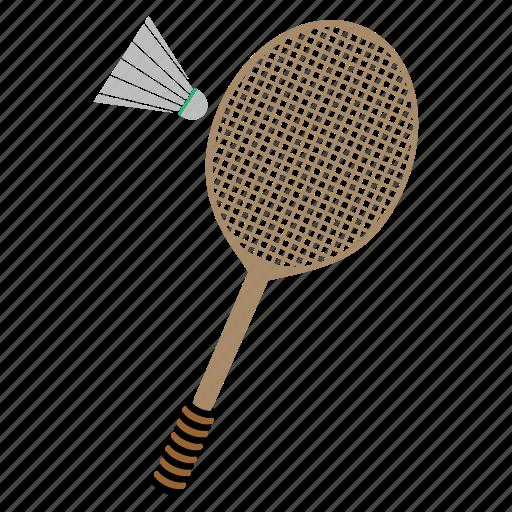 bedminton, games, play, racket, shuttlecock, sports icon
