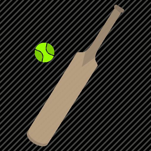 ball, bats, cricket, games, play, sports icon