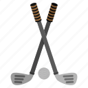 ball, games, golf, play, sports, stick icon