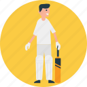 batsman, cricket, cricket player, outdoor sports, team player icon