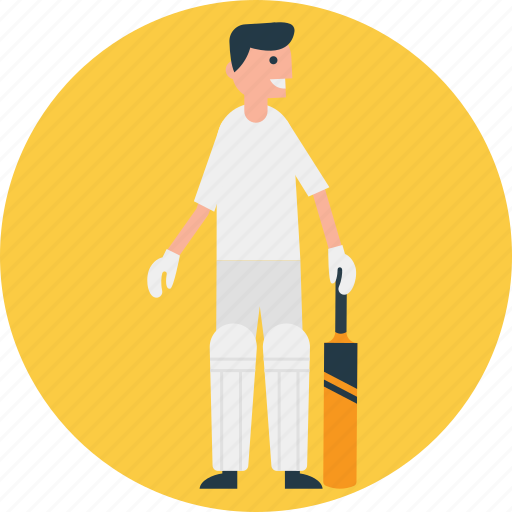 batsman, cricket, cricket player, outdoor sports, team player icon