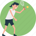 game of tennis, indoor game, playing tennis, tennis player, tennis racket icon