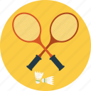 badminton, badminton court, badminton racket, indoor sports, shuttlecock icon