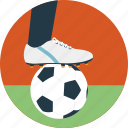 football field, football player, outdoor sports, player football, soccer field icon