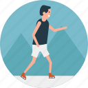 ice skating, outdoor sports, skater, skates on ice, training icon