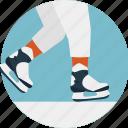 ice skates, ice skating, indoor sports, professional skating, training icon