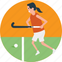 hockey field, hockey player, hockey team, hockey training, playing hockey icon